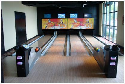 Mini Bowling Lanes
